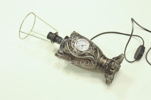 Лампа под античное серебро