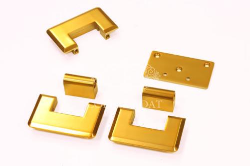 Петли под матовое золото