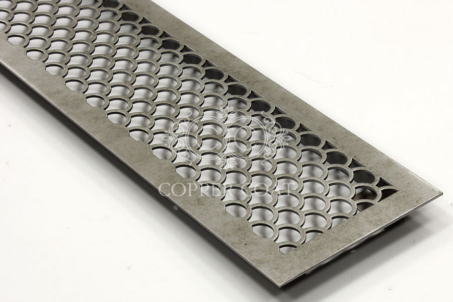 Конвекционная решетка под серебро