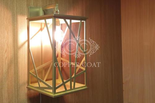 Латунный фонарь